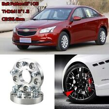 """4pcs 1"""" Wheel Spacers Adapters 5 Lug 5x4.1""""/5x105-12x1.5 Studs For Chevy Cruze"""