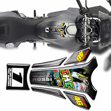 The Doctor 3D Motorcycle Gas Oil Tank Pad Protector Sticker Emblem Decal Set New