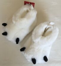 Babies Pure Soft Polar Bear Slippers Gift  M&S Size 3-6 Months BNWT
