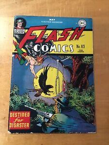 Flash Comics #83 very good fine 5.0 1947