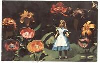 Postcard Walt Disney World Alice In Wonderland Mickey Mouse Revue 1972