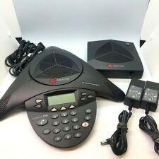 Polycom SoundStation 2W Wireless Conference Phone 2201-67880-160 & Base Receiver