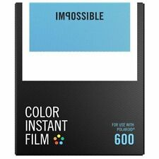 Impossible 600 Color Instant Film (White Frame, 8 Exposures) - 4514