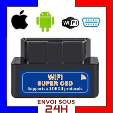 MINI ELM327 WIFI ELM 327 Valise Diagnostique Automobile INTERFACE Diag auto OBD2