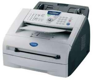 Geprüftes Brother Fax 2820 Laserfax mit Toner/Trommel, voll funktionsfähig