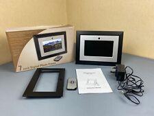 "7"" Digital Photo Frame - SD/MMC/XD/MS/CF/USB with Remote -  DPF-102"