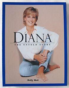 PRINCESS DIANA / THE UNTOLD STORY /12 X MAGAZINES WITH ORIGINAL BINDER / 1998