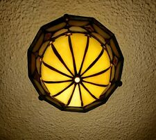 Stained glass lamp Ceiling Mnt