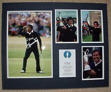 Se Ballesteros-golf Legend-Original signé Photo montage-avec LOA