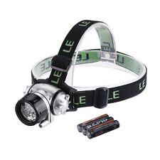 LE Headlamp LED, 4 Modes Headlight, Battery Powered Helmet Light for Camping, Ru