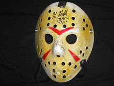KANE HODDER Signed Hockey Mask Jason Voorhees Autograph Friday the 13th 7,8,9,X