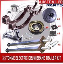 D.I.Y 3.5 Tonne Electric Brake Drum Tandem Trailer Kit