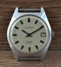 Men`s Vintage Soviet USSR Russian watch SEKONDA (POLJOT) automatic 30 jewels