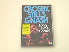 CROSBY, STILLS & NASH - LONG TIME COMIN' - DVD FREE ZONE - IT