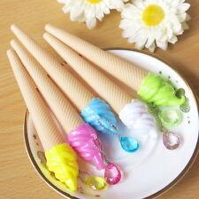 6x Fashion Kawaii Candy Ice Cream Gel Pens Office School Stationery Pen Gifts