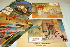 OLIVER ET COMPAGNIE ! w disney jeu 12 photos cinema lobby cards animation