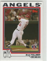 2004 Topps Baseball Los Angeles Angels Team Set Series 1 2 and Traded