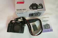 Canon EOS 40D 10.1MP Digital SLR Camera Body Only - FULL WORKING ORDER !!!