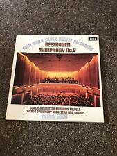 BEETHOVEN - SYMPHONY NO 9 2LP BOX, Chicago S/O, Solti, Minton, DECCA 6BB 121/2