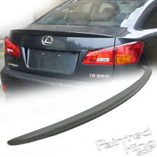 Unpainted For LEXUS OE-Type IS250 IS350 IS300h IS250 F Rear Trunk Spoiler Wing