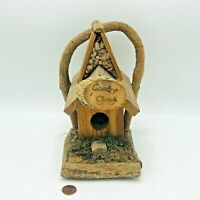 Primitive Rustic Country Church Wood Wooden Bird House Cottage Core Gremlin