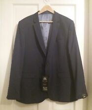 NEW !!! RIVER ISLAND MEN'S NAVY BLUE SUIT JACKET SLIM FIT SIZE UK 46R EUR 117R