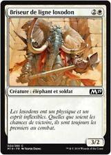 MTG Magic M19 - (x4) Loxodon Line Breaker/Briseur de ligne loxodon, French/VF
