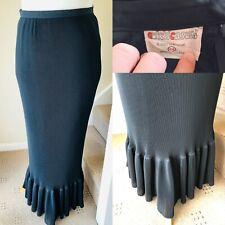 Vintage Cute & Causal Crinkles mermaid Styles Long Skirt Size- 14 Good Condition