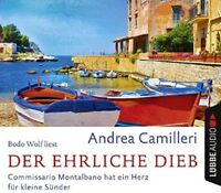 ANDREA CAMILLERI - DER EHRLICHE DIEB 4 CD NEW