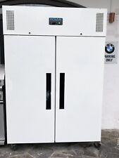 Gastro Doppel Tiefkühl Schrank Weiss