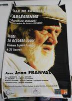 L'ARLÉSIENNE / A.Daudet / Jean Franval ✤ Cagnes-sur-Mer ✤ Gde Affiche 120 x 180