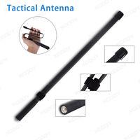 Folding Army CS SMA-Fra Tactical VHF UHF Walkie Talkie Antenna für Baofeng UV-5R
