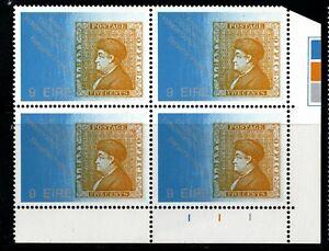 IRELAND 1976  US Bicentenary, 9p Plate Block Of 4, Plate 111 MNH