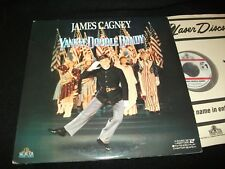 "YANKEE DOODLE DANDY<>JAMES CAGNEY<>2X12"" Laserdiscs<>MGM ML100792"