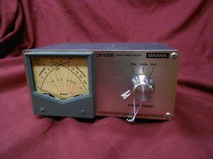 Diawa CN620B HF watt meter.