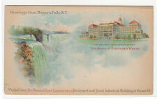 Greetings From Niagara Falls Home of Shredded Wheat 1900c PMC postcard