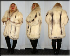 New Marble Fox Fur Jacket Size Extra Large XL 14 16 Efurs4less