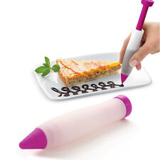 Icing Pastry Piping Bag Nozzles Tip Fondant Cake Sugarcraft Tool Decorating Pen