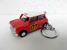 Porte clé Mini Cooper rallye Monte Carlo en métal neuf