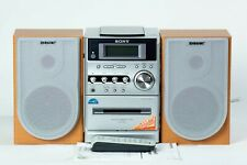 New listing Sony Hcd-Ne3 Micro HiFi Component System w/2 Speakers Cassette,cd complete