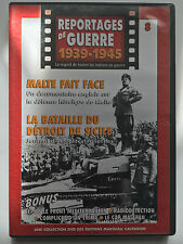 REPORTAGES DE GUERRE 1939 -1945 .. N°8 .. MALTE FAIT FACE / BATAILLE DE SICILE