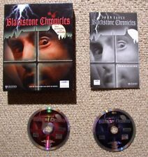 Blackstone Chronicles in Box - PC Adventure Game