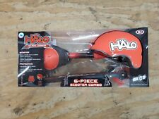 Halo Rise Above 6 Piece Inline Scooter Complete Combo Set, Red - New In Box