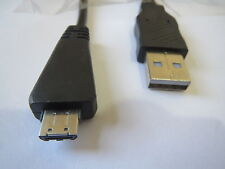 SONY CYBERSHOT DSC-TX5, DSC-T99 CAMERA REPLACEMENT USB CABLE FOR PC/MAC