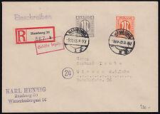 Lokalausgabe Hamburg Mi.Nr. 1 Briefstück Mi.Wert 180€ (6222)