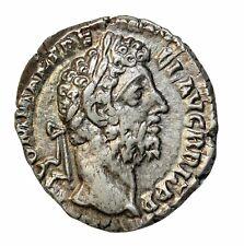 Ancient Roman Coin Commodus Denarius Silver 177-192 AD Rome Mint RIC.222a