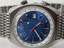 Alpina Startimer Pilot Heritage Automatic Watch Blue 42mm AL-555NS4H6B