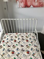 Ikea Minnen Metal Frame White Single Bed Very Good Used Condition