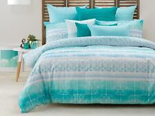 New Bianca Jarvis King Size Quilt /Doona Cover Set 7 Pce Bed Pack Cushion, Euro