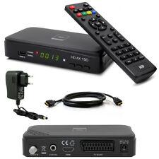 HDTV HD FULL Digital SAT Receiver OPTICUM AX150 AX 150 HDMI DVB-S2 1080p USB red